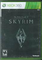The Elder Scrolls V: Skyrim (Xbox 360, 2011) (Complete w/ Manual) 🎉🎉🎉