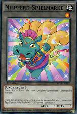 YuGiOh >3 verschiedene Nilfpferd-Spielmarken< YS16-DET01-03 Deutsch 1.Auflage C