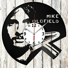 Mike Oldfield Vinyl Record Wall Clock Handmade Decor Original Gift 4710