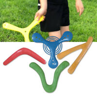4PCS/Set Magic Returning Outdoor Sports Game For Children Throwers Boomerang Toy