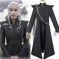 Game of Thrones Daenerys Targaryen Mother of Dragons Cosplay Costume Suit