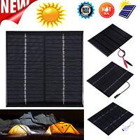 Mini Solar Panel Solarmodul Solarzellen Solarzelle Ladegerät für Handy Charger