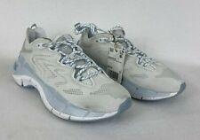 Reebok Women's Zig Kinetica II Running Shoes Size 5.5 Ftwr White/Pure Grey/Glass