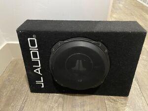 JL Audio CS110TG-TW3 10 Inch TW3 PowerWedge Loaded Enclosed Subwoofer