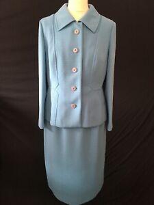 Vintage 60s Mod suit Eastex skirt jacket 12-14 M retro revival