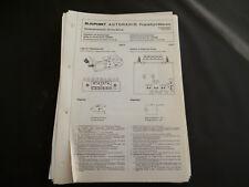 ORIGINALI service manual BLAUPUNKT AUTORADIO Francoforte 7631642 Stereo