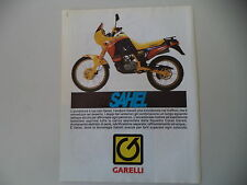advertising Pubblicità 1989 MOTO GARELLI SAHEL 50