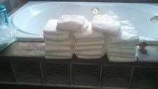 Adult ABDL Medium White Disposable Diapers 40 ea.Plastic outercover Assortment!