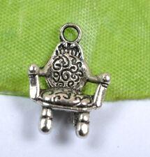 FREE SHIP 100PCS Tibetan Silver tablet chair  charm pendant 20x13MM SH390