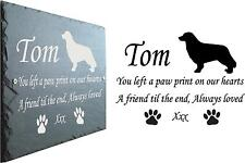 1st 4 Signs Pet Memorial Slate Plaque - 23cm X 16