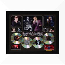 George Michael Signed & Framed Memorabilia - 4CD - Black - Limited Edition
