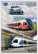 Hongarije / Hungary - Postfris/MNH - Sheet Hungarian Railways 2018