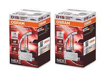 2x NEU ORIGINAL Osram D1S 66140XNL Night Breaker Laser +200% xenon bulb brenner