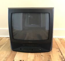 "Rca 19"" Crt Color Tv Vcr Combo Television Vhs Vcr Combo With Remote"