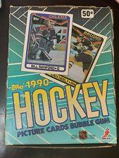1990-91 Topps Hockey Box. 36 Packs 14 Cards per Pack. Modano,Roenick,Mogilny, RC