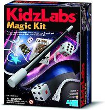 4M Kidzlabs Kidz Labs Magic Kit Magician supplies 12 tricks New