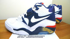 NIKE AIR FORCE 180 TEAM USA WHITE NAVY BLUE RED GOLD SZ 7.5 BARKLEY OLYMPIC