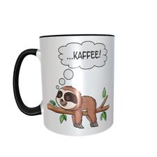 Faultier Kaffee Tasse - träumendes Fauli