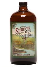 Apple Cider Vinegar Tonic Strength of the Hills Super-Premium Day Elixir 34 oz