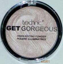 Technic Get Gorgeous Highlighting Bronze Powder lluminating Pressed Contour NEW