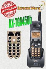 BUTTON REPAIR > KX-TGA450b Panasonic Cordless Phone Keypad KX-TG4500B KXTGA450B