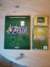 Zelda majoras mask n64 mit Spielberater und Anleitung
