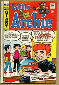 Little Archie #71-1972 fn- 5.5 Adventures Of / Little Sabrina / Giant-Size