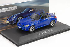 Mercedes-Benz SLK 350 R171 2004 blau 1:43 IXO Altaya Collection 40