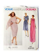 Vogue 1879 Bill Blass Pattern Sz 10 Vogue American Designer Uncut Factory Folds