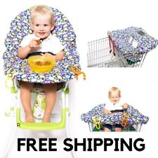 2 in 1 SHOPPING TROLLEY and HIGH CHAIR COVER for babies and toddlers.