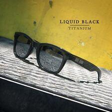 Polarisierten Sonnenbrillen. Skullrider. CRYSTAL BLACK CHROME. Gruppe Hawkers