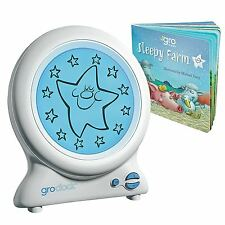 Gro Company Gro-Clock Baby Nursery Sleep Trainer with Bedtime Storybook UK MODEL