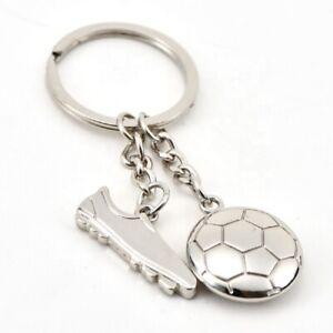 Football Boot & Ball KeyRing. Gift For Christmas Birthday Fathers Day. UK Seller
