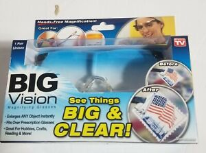 Big Vision See Things Magnifying Eyewear Glasses See 160% More Better