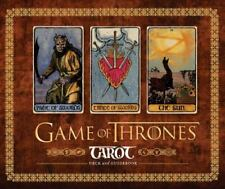 Game of Thrones Tarot by Liz Dean (2018, Game)