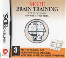 NINTENDO DS LITE DSi 3DS 2DS:~ DR KAWASHIMA'S MORE BRAIN TRAINING ~ {COMPLETE}