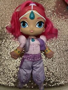 Talking Shimmer / Shine Doll In Excellent Condition Singing Plush Body