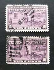 US-1922-2 10c Special Del issues-Used