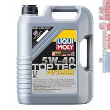 5l liqui Moly 3701 aceite del motor top tec 4100 5w-40 aceite VW 502.00/505.00 bmw ford MB