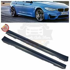 12-18 F80 M3 STYLE SIDE SKIRTS SET PAIR FOR ALL BMW F30 F31 3 SERIES SEDAN WAGON