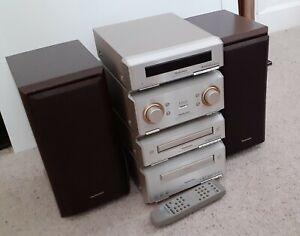 Technics SC-HD350 / 550 HiFi Stack: CD Player,Tape,Tuner,Amp,Speaker, One owner