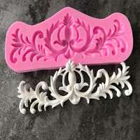 3D Silicone Fondant Cake Decor Mould Chocolate Baking Sugarcraft Mold Home DIY