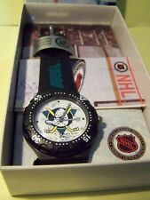 Mighty Ducks Hockey sports watch 1993 Inauguration season NHL NEW vintage/ works