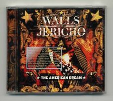 WALLS OF JERICHO - THE AMERICAN DREAM / PROMO CD [HOLE PUNCH] 2008 TK118