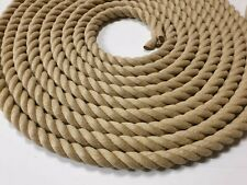 20mtr Length Of 18mm Synthetic Hemp Rope - Polyhemp - Garden Rope