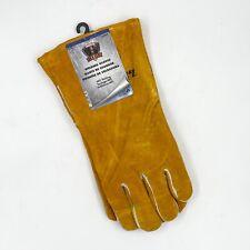 Forney 55206 Hide Mig Welding Gloves Size Large