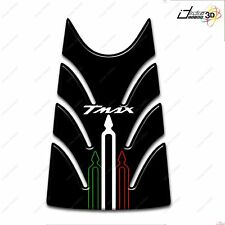 KIT ADESIVI RESINA 3D T MAX TMAX 2008-2011 MOTO CARENE TUNNEL 500 NERO TRICOLOR