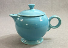 Fiesta Vintage Turquoise Large Teapot with Lid (1938 - 1946) - Fiestaware