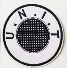 """1pc Dr Doctor Who Unit U.N.I.T Embroidered Iron On / Sew On Patch 3.5"""""""