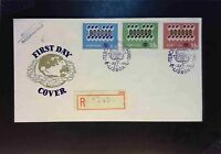 Portugal 1962 First Day Cover / Interesting Back Stamps - Z1643